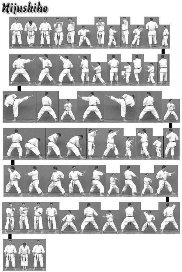 NIJUSHIHO - Victoria Shotokan Karate and Kobudo Association -